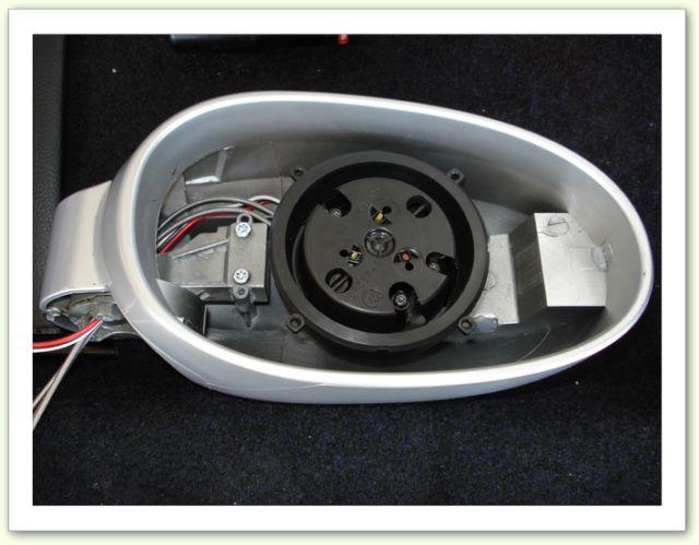 Smart Fortwo 450 Miroir Réglage cache caoutchouc